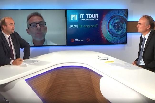 Laurent Rousset, DSIO d'Adecco, intervient sur le thème de l'IA au service de la recherche d'emploi sur l'IT Tour Web TV 2020 Auvergne Rhône-Alpes. (crédit : LMI)