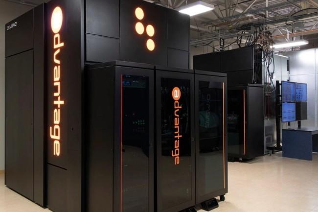 D-Wave pr�sente le syst�me quantique Advantage avec 5000 qubits, disponible le 8 octobre pour les entreprises via son service cloud, Leap. (Cr�dit Photo : D-Wave)