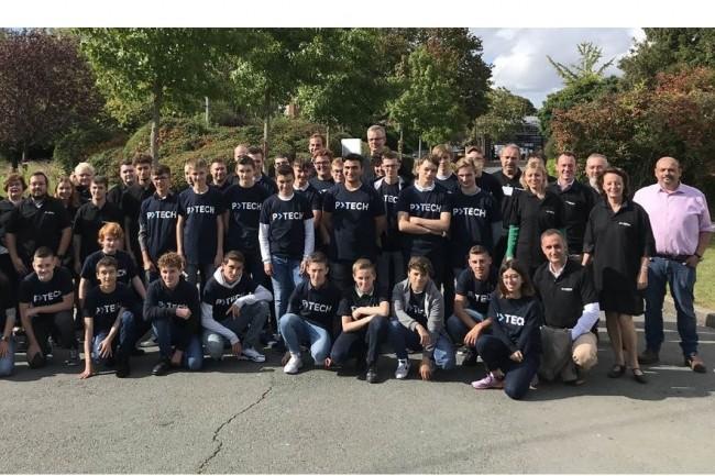 L'an dernier, le programme P-Tech a été expérimenté au lycée professionnel Edmond Labbé de Douai (Hauts-de-France). Crédit photo: D.R.