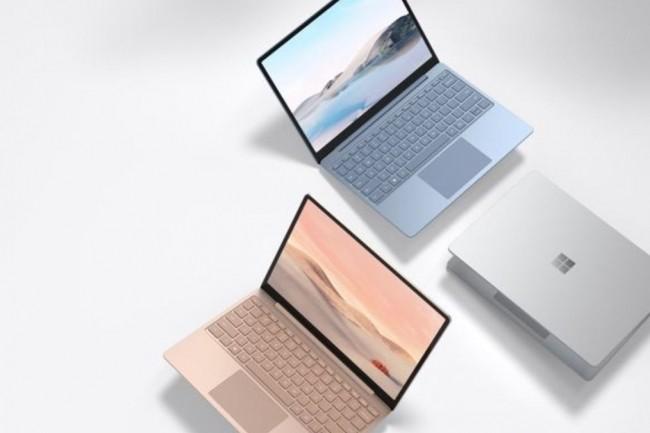 La Surface laptop Go sera commercialisé en France à partir de 600€HT (crédit : Microsoft)