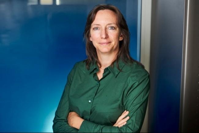 Joanne Deval, DSI groupe d'Air Liquide, a, comme beaucoup des cadres de cette entreprise, réalisé toute sa carrière au sein de la firme. (Crédit Photo: Bruno Lévy)