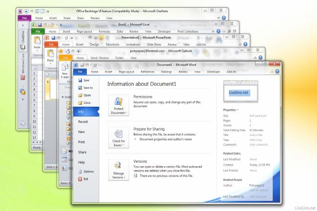 La fin d'Office 2010 est attendue pour le 13 octobre 2020. (Crédit Photo : Microsoft)