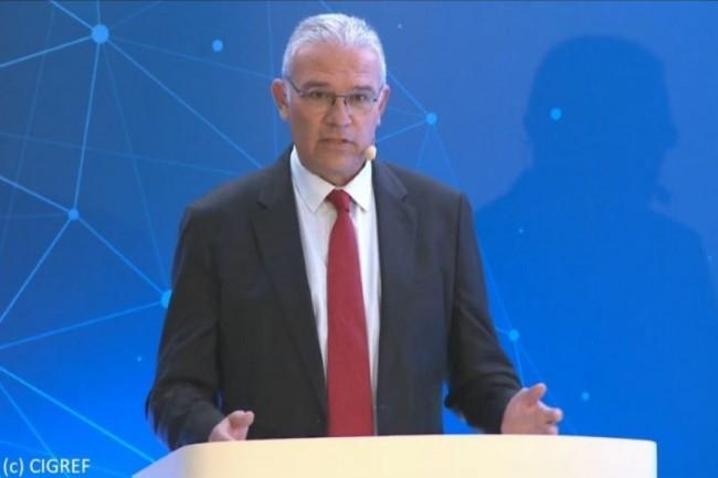 Bernard Duverneuil, président du Cigref, a ouvert l'AG publique du Cigref en vidéoconférence.