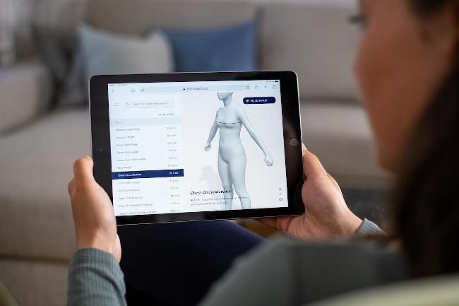 Zalando achète la startup suisse Fision, et son app d'essayage virtuel (Photo Zalando)