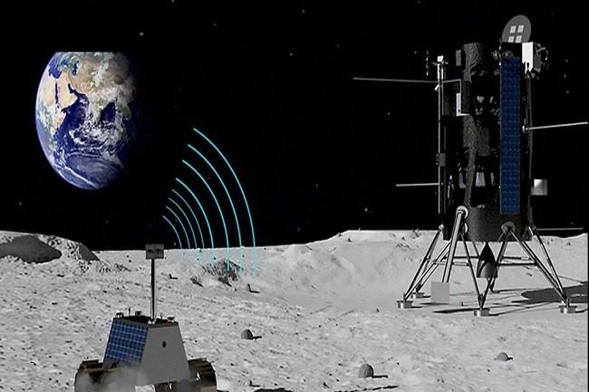 Pour accompagner une prochaine mission sur la Lune, la NASA a commandé à Nokia/Bell Labs des stations relais 4G. (Crédit Bell Labs)