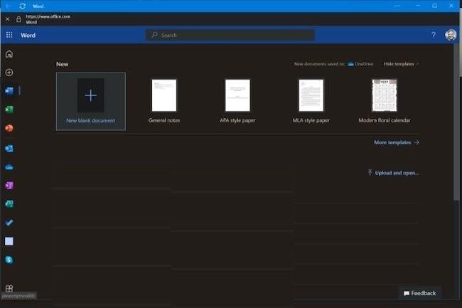 Mise à jour test ou véritable bug dans Edge, l'apparition des Progressive Web Apps d'Office dans Windows a agacé certains utilisateurs. (Crédit IDG)