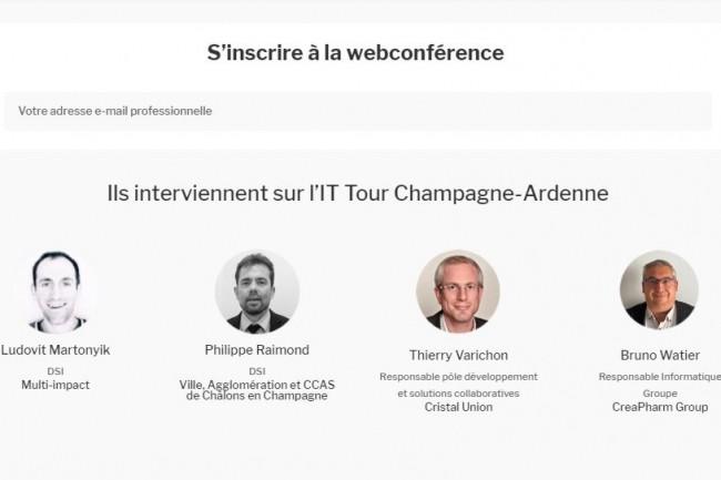 Web TV IT Tour Champagne-Ardenne : retrouvez les témoignages de Creapharm, Multi-Impact, Cristal Union et Châlons-en-Champagne