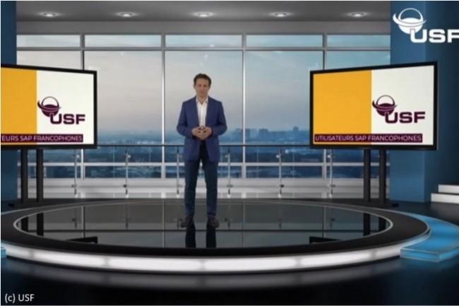 Gianmaria Perancin, Président de l'USF, a remplacé les interventions en présentiel lors de la Convention annuelle par des vidéos.