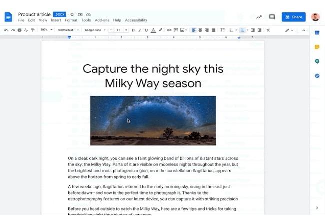 La fonction d'édition des documents Office était très attendue par les utilisateurs de Google Drive. (Crédit Photo: Google)