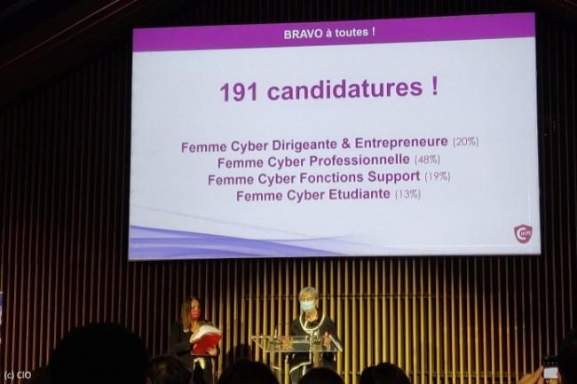 Christine Hennion, députée des Hauts-de-Seine et présidente de la fondation Femmes@Numérique, a ouvert cette première édition des trophées du Cefcys.