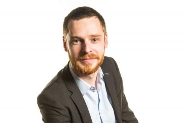 Julien Gazel, Contract Manager au Département ICS d'EDF, cherche à capter aisément les variations du climat social.