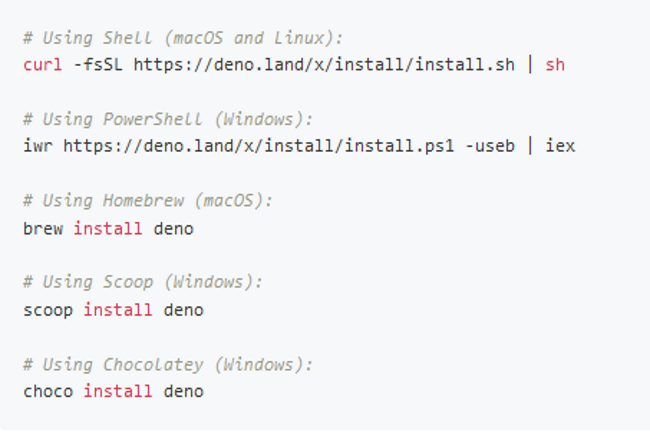 La version 1.5 de Deno apporte plusieurs innovations au développeur. (Crédit Photo : DR)