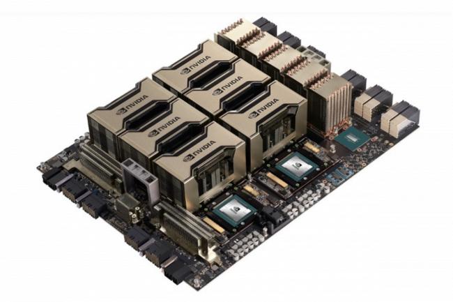 Les instances EC2 P4d d'AWS sont basées sur la puce GPU A100 de Nvidia. (Crédit Photo : Nvidia)