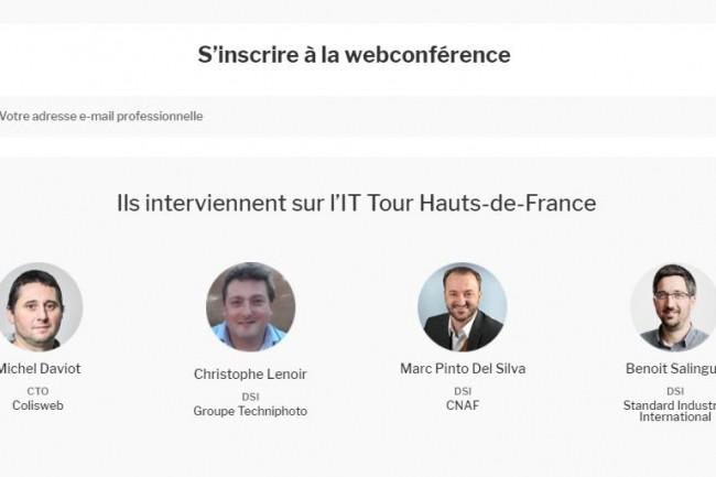 Pour l'étape Hauts-de-France de l'IT Tour web TV 2020, débats, retours d'expériences et grand entretien sont au programme. (crédit : LMI)