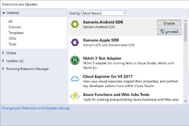 Microsoft revoit sa copie sur les modèles d'extensions de Visual Studio. (Crédit Photo : Microsoft)