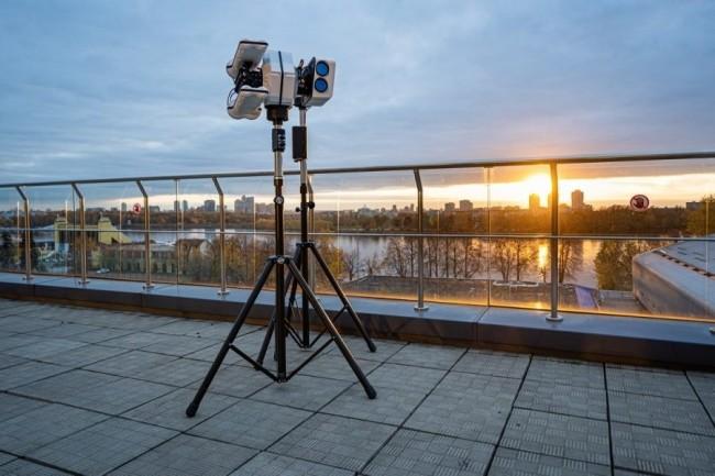 Kaspersky se met au hardware en pr�sentant un dispositif anti-drone. (Cr�dit Photo : Kaspersky)