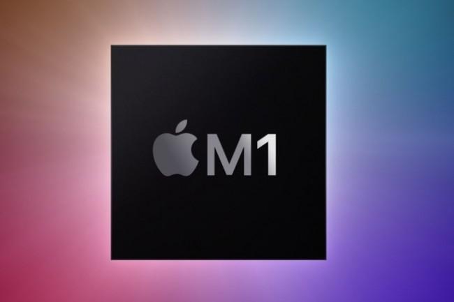 Apple surprend avec les performances annoncées de sa puce ARM M1 pour Mac. reste à confirmer les annonces marketing. (Crédit Apple)