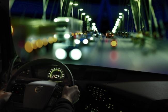 La technologie embarquée permet à Volvo Trucks de traiter instantanément des millions de données enregistrées. (Crédit Volvo Trucks)