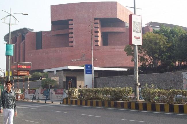 Les équipes des SSII indiennes, ici TCS à Madhapur Hyderabad, ont été pénalisées par la pandémie Covid-19. (Crédit SJ.Veera)