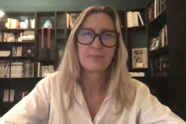 Co-pr�sidente de la SSLL Alterway et administratrice du Syntec Num�rique, V�ronique Torner a pr�sent� l�initiative Planet Tech�Care.