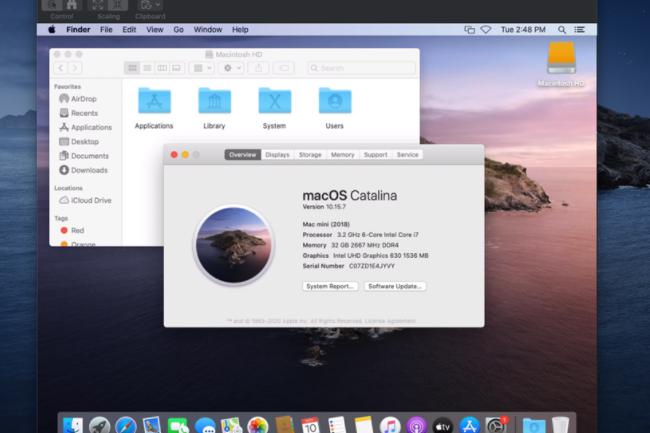 Les instances EC2 Mac reposent sur des Mac mini embarquant des processeurs Intel Core i7 de 8e génération. (crédit : Apple)