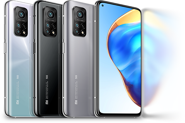 Le fournisseur chinois propose plusieurs smartphones 5G dont le Mi 10 Pro. (Crédit Xiaomi)