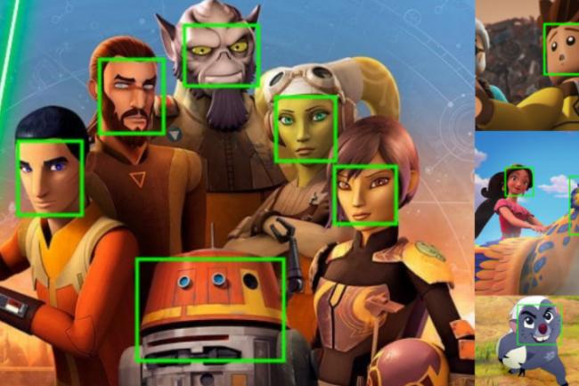 Disney utilise PyTorch depuis 2019 pour la reconnaissance automatisée des visages de personnages dans ses dessins animés. (crédit : Disney)