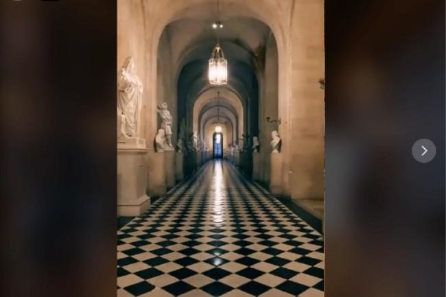 Le château de Versailles s'est lancé prudemment sur Tiktok en novembre.