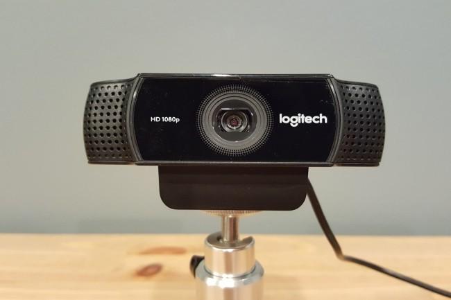 La série Logitech C920 est une valeur sûre pour un webcam 1080p. (Crédit Photo: Hayden Dingman/IDG)