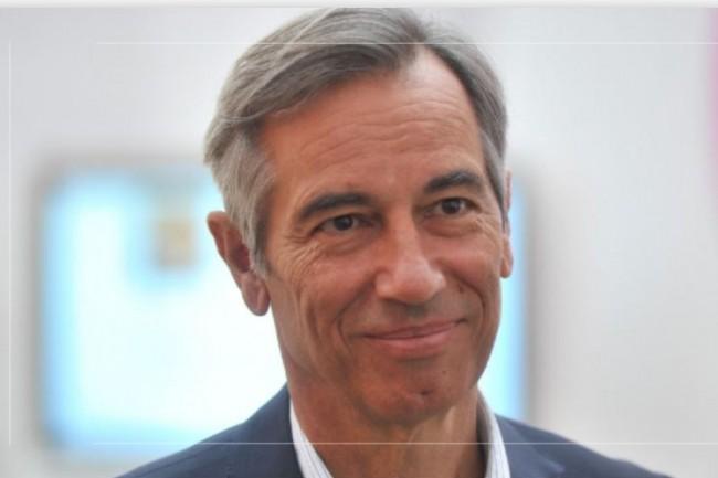Godefroy de Bentzmannn, président de Syntec Numérique, a présenté un bilan 2020 du secteur IT moins négatif que prévu.  (Crédit photo: Syntec Numérique).