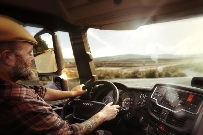 Chez Iveco, Alexa servira au chauffeur à contrôler l'état de son véhicule ou mieux gérer sa tournée. (Photo Iveco DR)