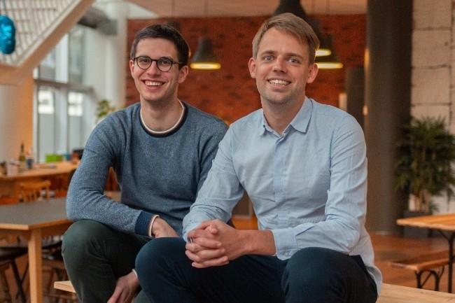 Luko va développer de nouveaux services pour la protection du foyer, embaucher et se développer à l'étranger. (Photo Luko DR. De G à D, les deux fondateurs, Benoît Bourdel, CTO et Raphaël Vullierme, CEO)