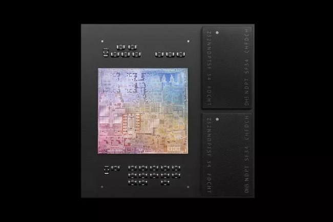 Après la puce M1, Apple travaille sur une puce sous ARM de 32 coeurs pour les prochains Mac. (Crédit Photo: Apple)