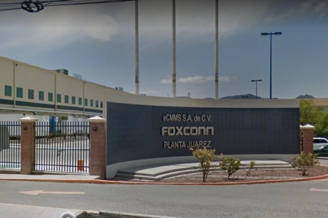 Foxconn est installé au Mexique dans la ville de Juarez depuis 2005. (crédit : Google Maps)