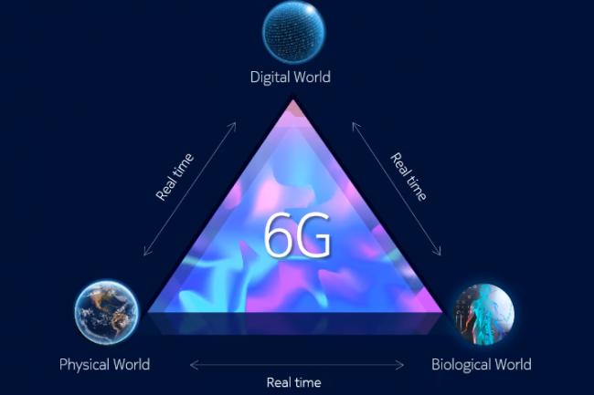 Parmi les débouchés attendus par la 6G, est notamment évoqué l'imagerie holographique temps réel à horizon 2030. (crédit : Nokia)