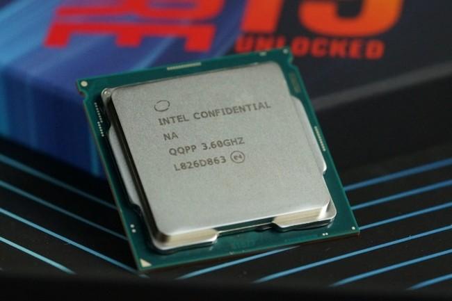 Intel a sonné le glas pour ses puces Core de 9e génération. (Crédit Intel)