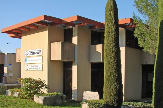 Le campus d'Ynov à Sophia-Antipolis sera abrité dans les locaux remis a neufs de l'école de code CampusID. (Crédit photo: CampusID).