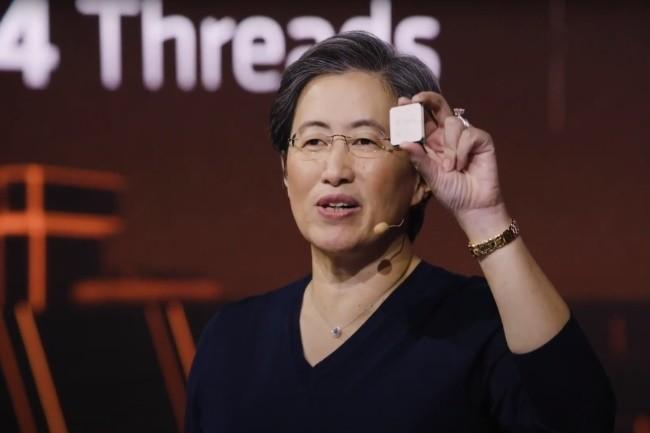 Lisa Su, CEO d'AMD, devrait présenter le 12 janvier au CES virtuel ses dernières puces dont les Ryzen 5000 mobile.(Crédit Photo: AMD)