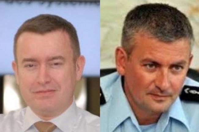 De gauche à droite : les colonels Eric Freyssinet et Patrick Touak. (Crédit : D.R.)