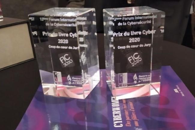 Le livre Cyberwomen - Des parcours hors normes, une filière d'avenir,  a obtenu le prix « Coup de coeur du Jury » au FIC 2020. (crédit : D.R.)
