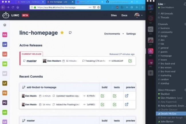 Avec Linc, Cloudflare a l'ambition d'outiller les d�veloppeurs de sites front-end pour cr�er et personnaliser leurs applications ind�pendamment de l'h�bergement utilis�. (cr�dit : Cloudlfare)