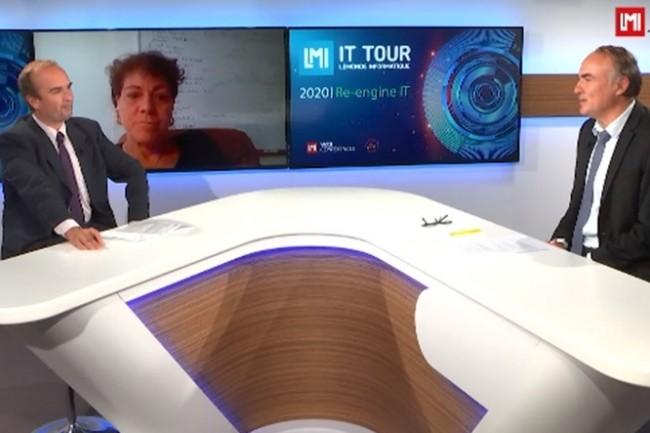 Heidi Derrien, responsable du service IT de l'Université de Nantes est intervenue lors de l'IT Tour web TV 2020 avec un retour d'expérience consacré à son projet de sauvegarde. (crédit : LMI)
