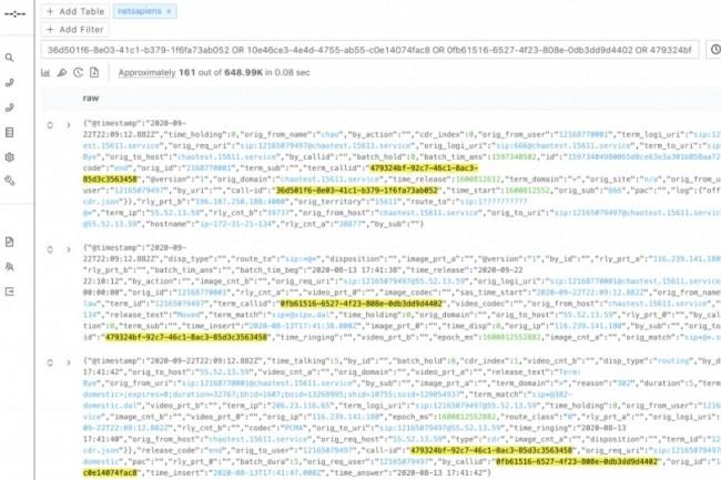 Dashbase va apporter à AppDynamics de Cisco des capacités supplémentaires en recherche, exploration et corrélation de données issues par exemple de logs. (crédit : Dashbase)