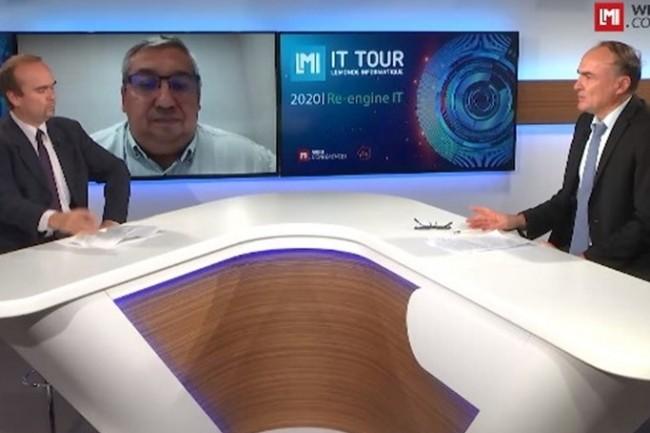 Bruno Watier, responsable informatique groupe Creapharm, est intervenu sur l'IT Tour web TV 2020 pour un retour d'exp�rience SD-Wan. (cr�dit : LMI)