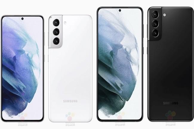 Beaucoup d'informations ont fuité sur la toile concernant la gamme Galaxy S21 de Samsung. (Crédit Photo : Winfuture)