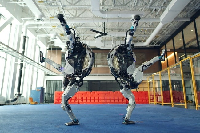 Les robots de Boston Dynamics ont le rythme dans la peau. (Cr�dit Photo: Boston Dynamics)