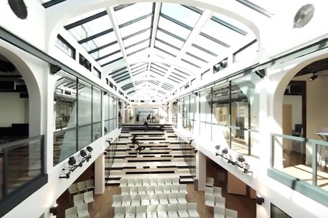 Pour faciliter les échanges autour des projets accompagnés, Leonard dispose de 4 500 m2 dans le 12ème arrondissement de Paris. (Crédit : Vinci)