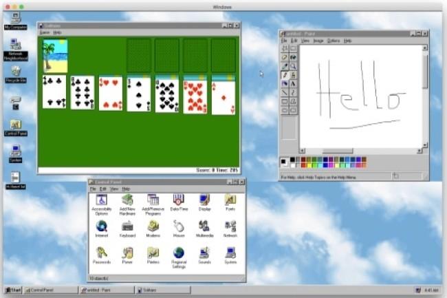 Un développeur a élargi la compatibilité de son application Windows 95 sur les environnements ARM. (crédit photo: D.R.)