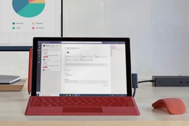 La Surface Pro 7+ de Microsoft est disponible en précommande à partir de 1 029 €HT. (crédit : Microsoft)