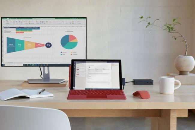 Selon Microsoft, la Surface Pro 7+ répond en partie aux derniers besoins qui se sont manifestés pendant la pandémie. (crédit : Microsoft)